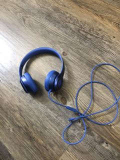 Beats solo 2 royal blue (limited edition)