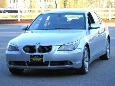 2007 BMW 5-Series 530xi (Silver)