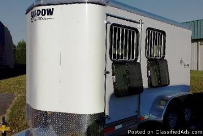 2013 Shadow 2 horse trailer eXtra Tall eXtra Wide