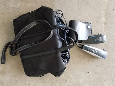 2 Animal clippers with case.