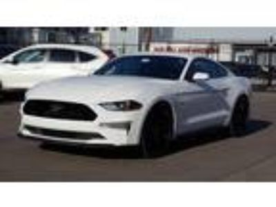 $25900.00 2018 Ford Mustang with 109 miles!