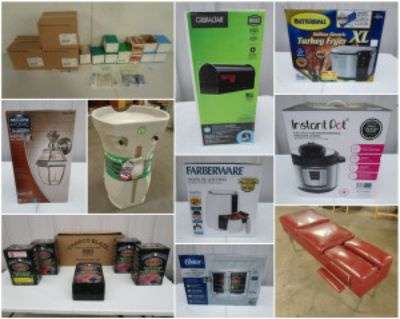 FRESNO, CA General Merchandise Auction