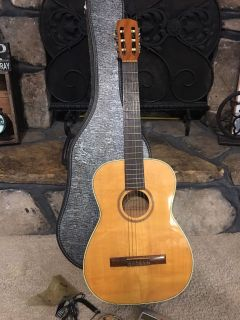 Vintage Goya G12 Guitar with Case