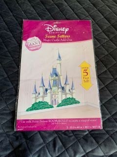 New Disney princess scene setters magic castle add ons