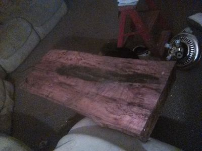 Hand made real wood tables