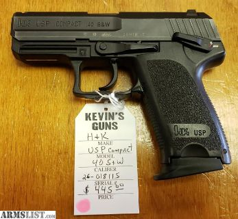 For Sale: H&K USP Compact