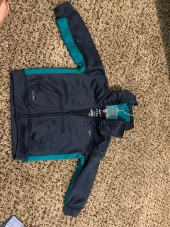 Thermal fit Nike jacket with hood