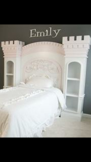 Custom Castle Full Bed and Dresser