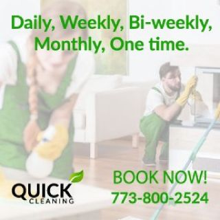 Local Cleaning Company 773-800-2524 *QUICKCLEAN*