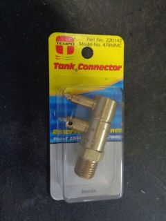 Find TEMPO TANK CONNECTOR HONDA 220142 MODEL 478MMC motorcycle in Seminole, Florida, United States, for US $9.99