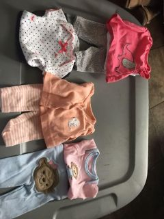 Baby girl clothes premie
