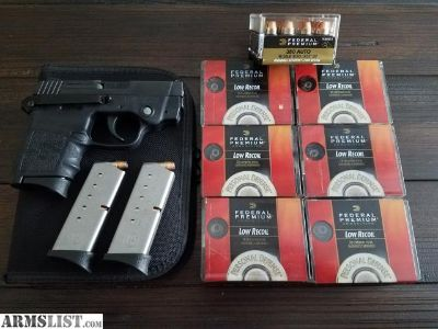 For Sale/Trade: S&W .380 Bodyguard w/ factory laser & extras