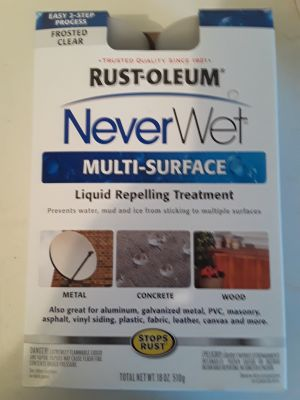 Rustoleum Never Wet