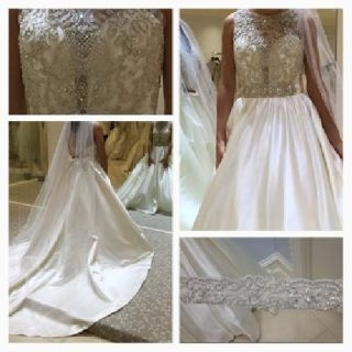 Brand new never worn or altered allure wedding dress