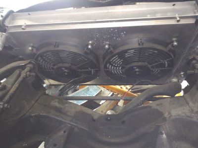 radiator corvette 1977-1982