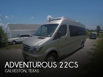 By Owner! 2016 Mercedes Roadtrek Adventurous 22CS