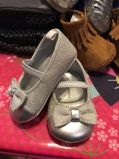 KoalaBaby silver shoes
