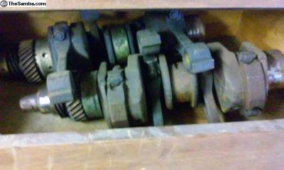 Stock Type 4 Crankshaft With Rods