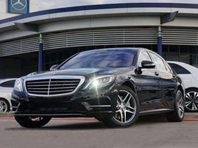 2014 Mercedes-Benz S-Class S550 (Black)
