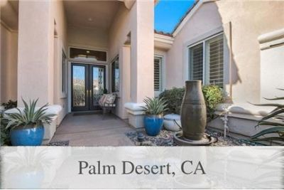 Palm Desert Luxurious 2 + 2.50. Parking Available!