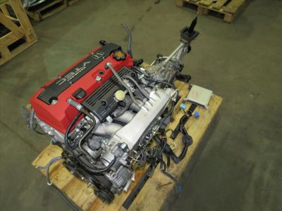Honda S2000 AP1 F20C Engine 2.0L DOHC VTEC Motor 6 Speed wit