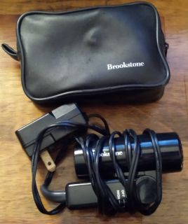REDUCED Brookstone travel hair dryer