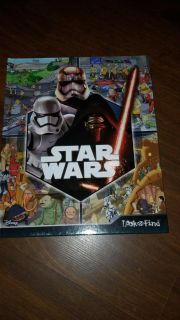 $3 new look and find star wars hard cover