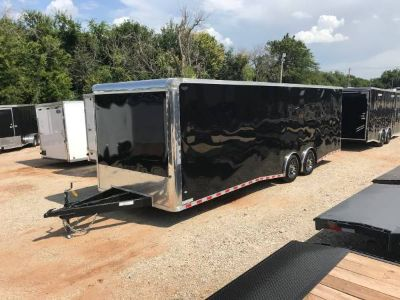 NEW 2018, 8.5'X28' COVERED WAGON TANDEM AXLE ENCLOSED TRAILE