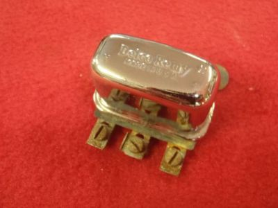 Sell 55 56 57 58 59 60 61 62 CHEVY CORVETTE CHROME HORN RELAY OEM 1116781 PONTIAC GM motorcycle in Salem, Iowa, United States, for US $99.95