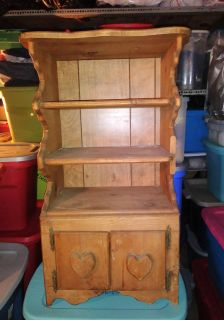 PRETTY REAL SOLID WOOD ANTIQUE PIECE
