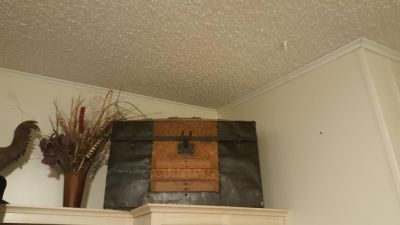 Antique 100+ year old trunk