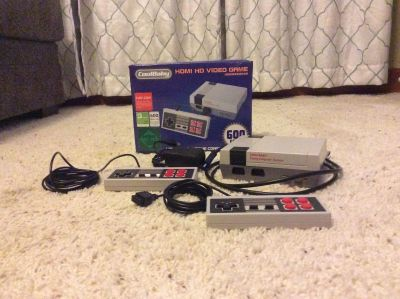 Brand New Nintendo Mini. Only 6 months old. Works perfect, only played a handful of times when we first got it. Kids just never play it