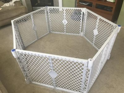 Puppy play area