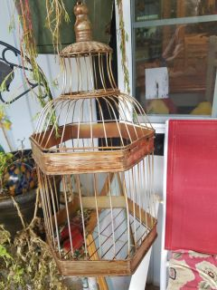 Very Pretty Bird Cage Decor. Use once