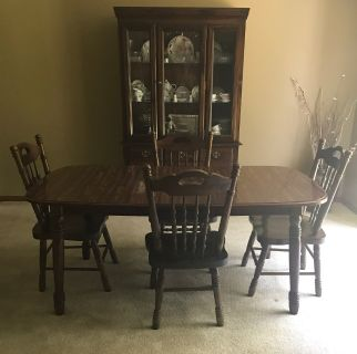 Dining Set & China cabinet