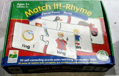 Match it Rhyme Puzzles