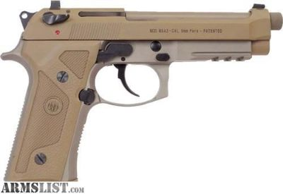 For Sale: Beretta M9A3 (FDE) NIB - Made in Italy!