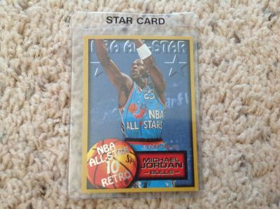 Micheal Jordan All Star Card