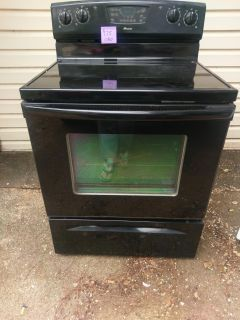 Amana electric smooth top stove