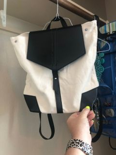 Brand new backpack purse