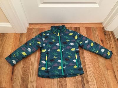 Cat & Jack Fleece Lined Puff Jacket. Size 4t. Excellent, Like New Condition.