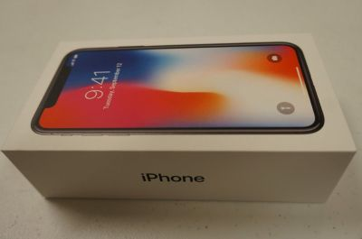 NEW Apple iPhone X 64GB or 256GB SILVER/GRAY (AT&T/Cricket/H2O) READ!