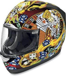 Sell Icon Alliance Lucky Lid Street Helmet motorcycle in Liberty, Kentucky, US, for US $170.00