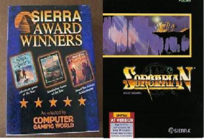 Sorcerian, Red Baron, & Rise of the Dragons (MS-DOS)