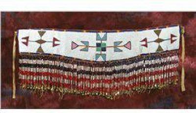 $3,000 Blackfeet Beaded Martingale