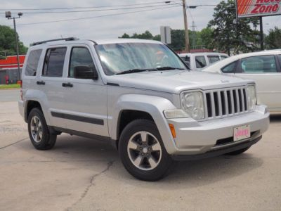 2008 Jeep Liberty Sport (Bright Silver Metallic Clear Coat)