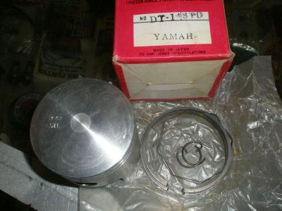 Find PISTONS YAMAHA 1968T070s.250CC DTI. B. E. STD NONE REED motorcycle in Pittsburgh, Pennsylvania, US, for US $75.00