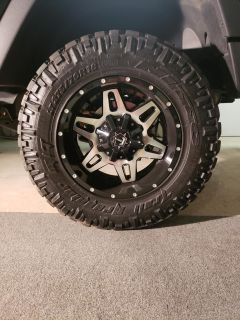 5 Nitto Trail Grappler M/T tires, $200 OBO