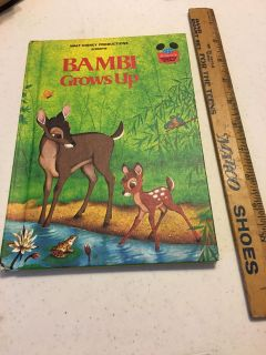 Bambi Grows Up Book, used $1