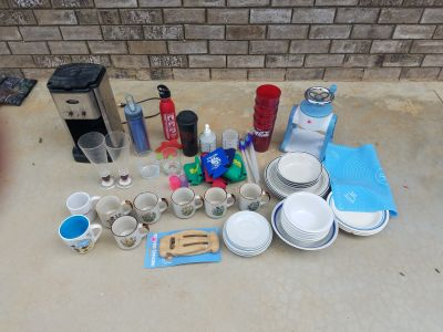 F---- assorted kitchen items